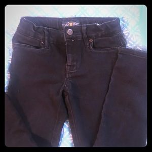 Girls Lucky Jeans size 8. Slim fit. Black.